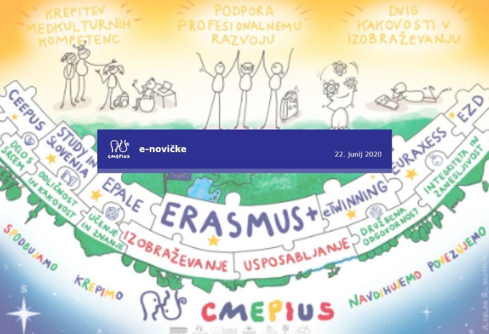 CMEPIUS e-novičke – junijska izdaja