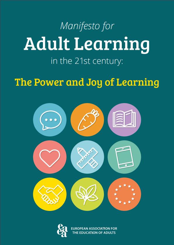Rezultat iskanja slik za Manifest za učenje odraslih v 21. stoletju